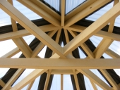 octagonal-gazebo-timberwork