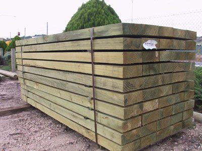 Sleepers for Retaining Walls & Landscaping In Adelaide - woodnlogs